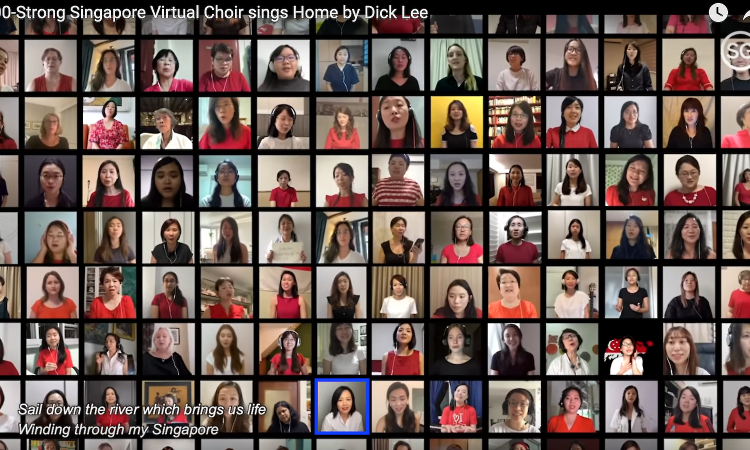 Post thumbnail of I sang Home at home as part of a virtual choir and it moved me to tears