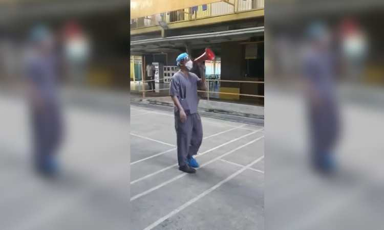 Post thumbnail of Viral video of doctor at foreign worker dorm is a reminder to be grateful