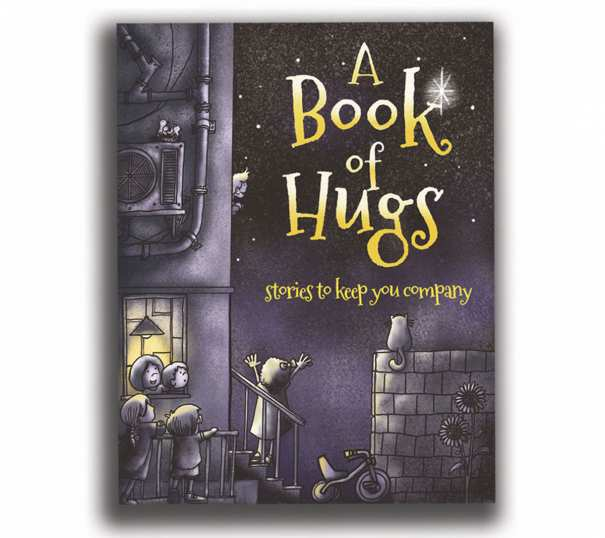 A Book of Hugs: Stories to Keep You Company, was produced with contributions from a group of Singapore-based children's authors and illustrators to raise fund to children charity