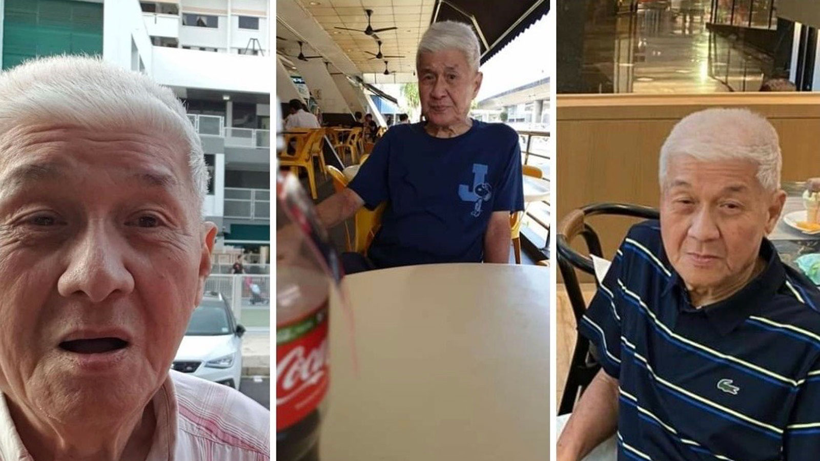 My dad with dementia went missing for four days, found at Hougang thanks to good Samaritan thumbnail