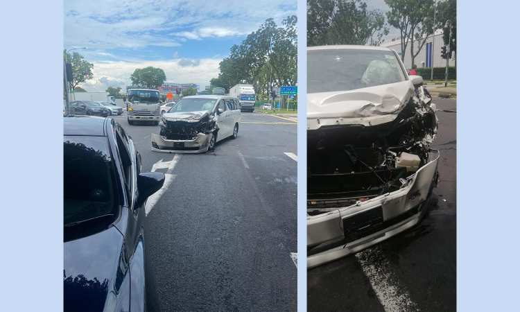 Post thumbnail of Gojek hero driver saved my day after I got into a crash with a lorry