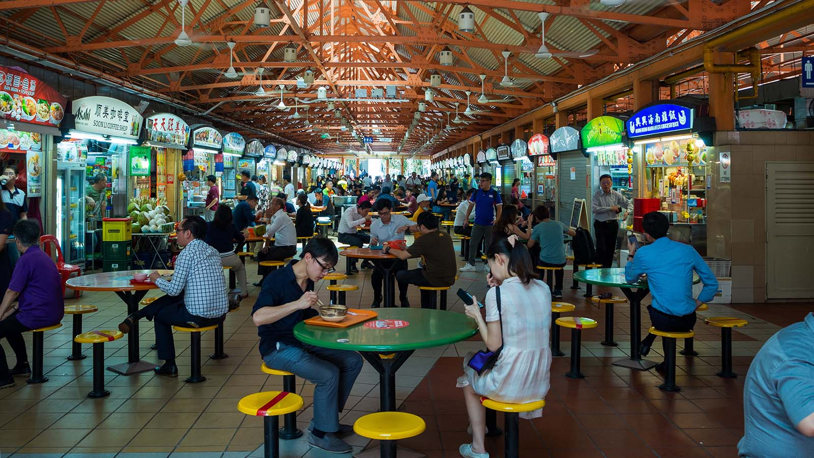 Post thumbnail of Make cleanliness at hawker centres part of our cultural heritage