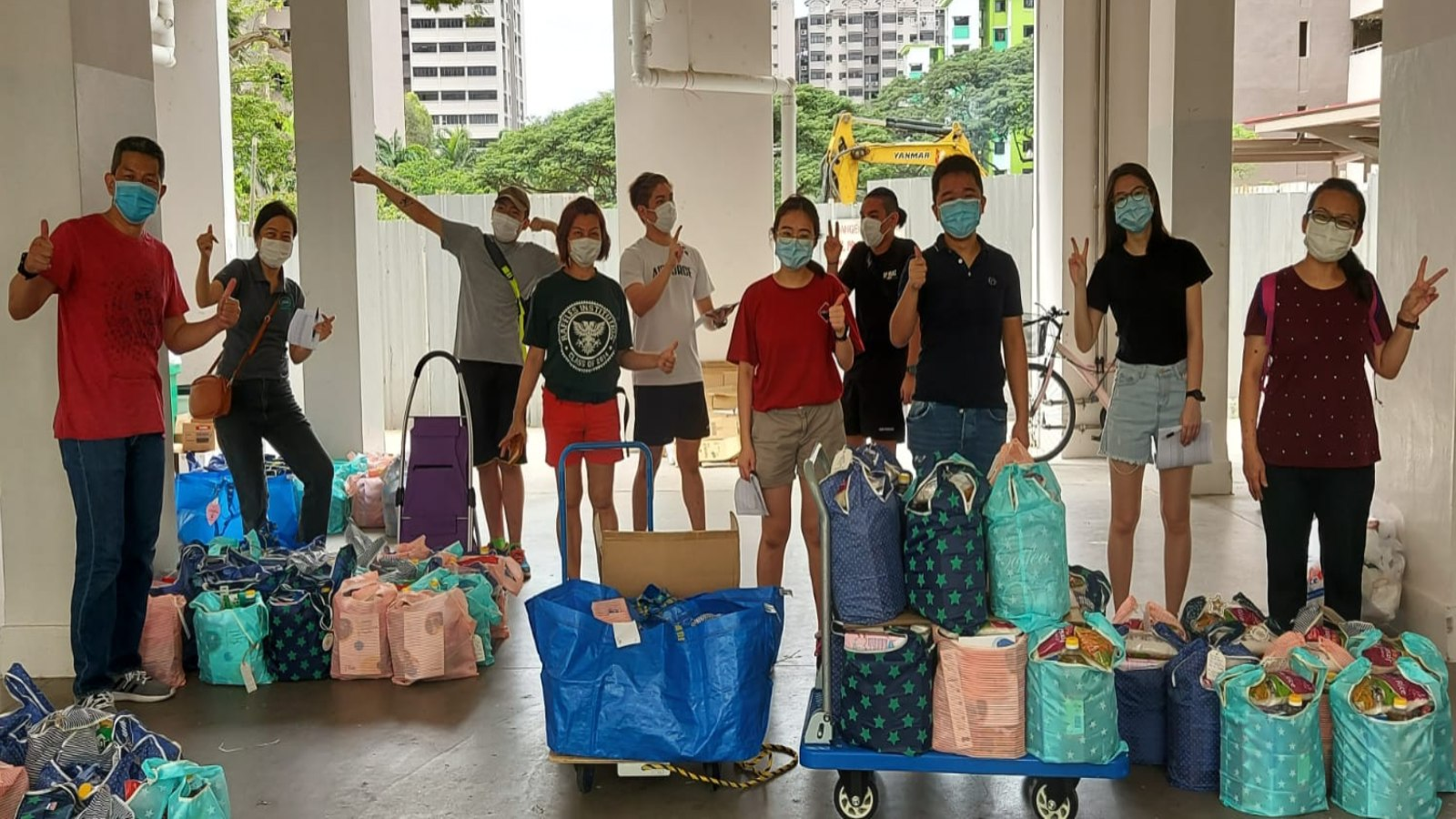 Post thumbnail of No such thing as a deed too small: Neighbours and volunteers come together to foster the kampung spirit