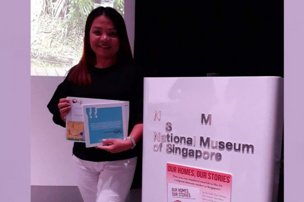 Poet at National Museum of Singapore
